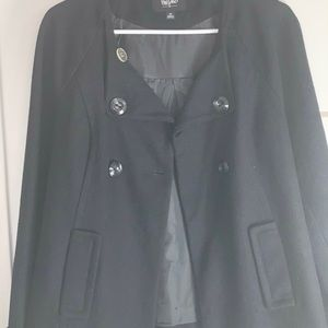 Mossimo Supply Co. Jackets & Coats - Mossimo pea coat-Black